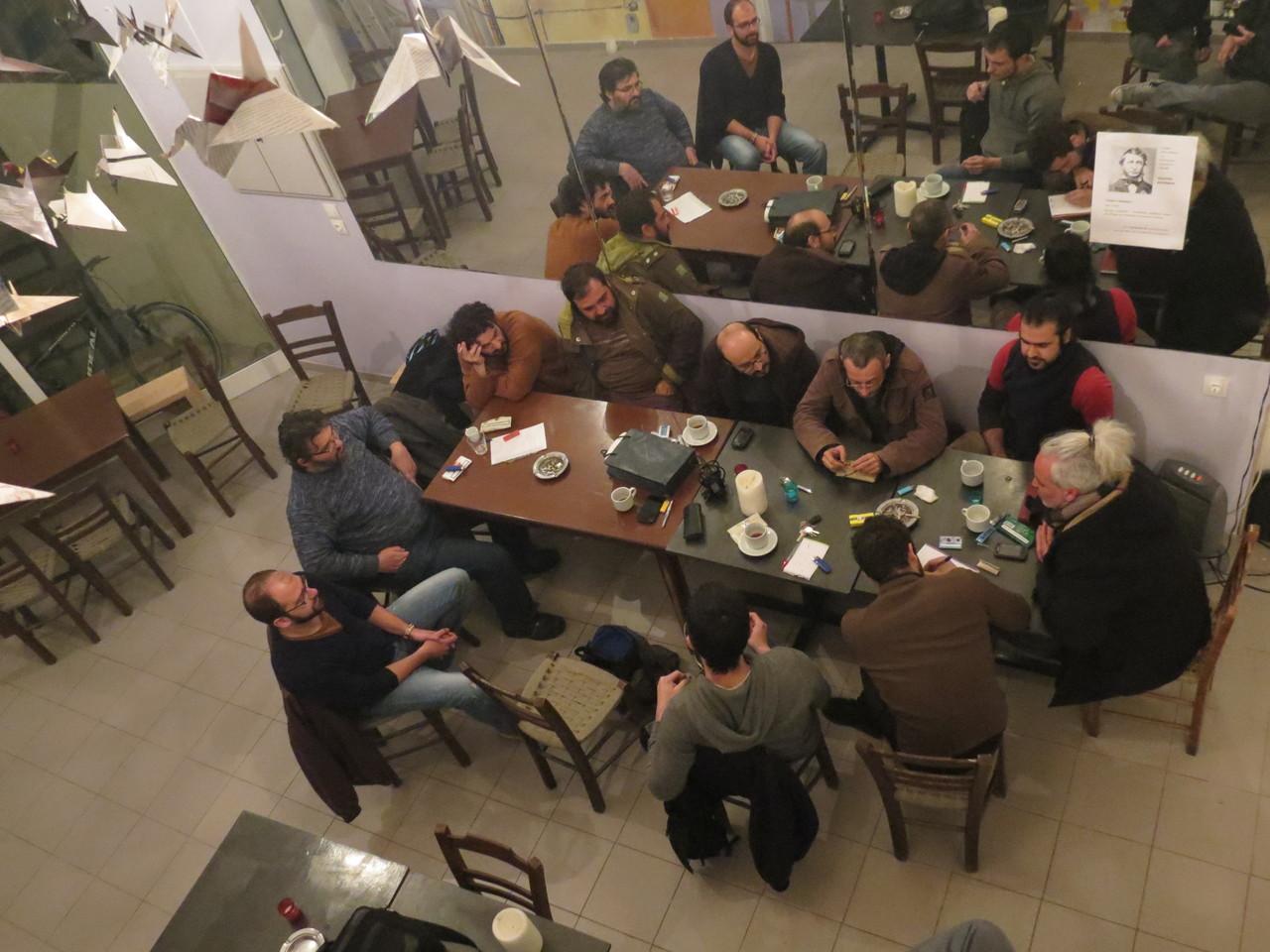 Meeting at Granazi
