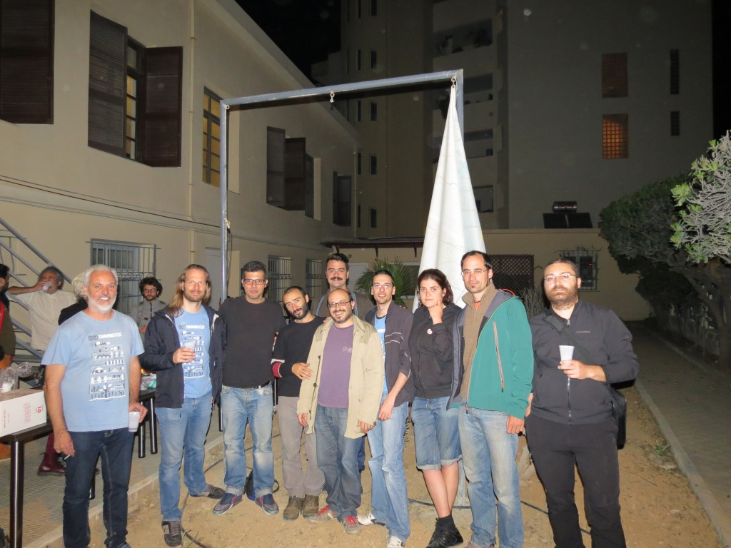 Members of the Heraklion organizing team with participants, FLOK & CiC members